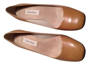 Calvin Klein Chunky Nude Pumps