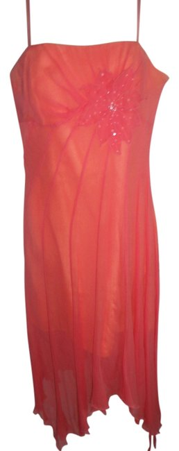 Preload https://item5.tradesy.com/images/laundry-by-shelli-segal-peach-spagetti-strap-silk-chiffon-with-boned-bodice-high-low-cocktail-dress--820619-0-0.jpg?width=400&height=650