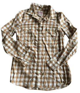 Old Navy Button Down Shirt Camel