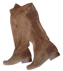 Jessica Simpson over the knee boots Tan Suede Boots