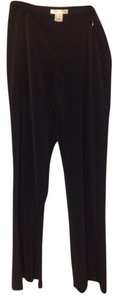 White House | Black Market 94% Polyester 6%spandex Straight Pants Black