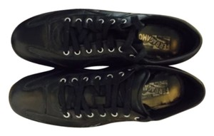 Ferragamo Low top sneakers / worn only a few times ...look new .see pics Black Athletic