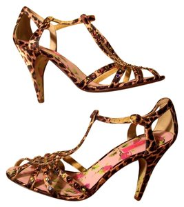Betsey Johnson Leopard-print Pumps
