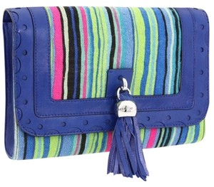 Nanette Lepore Strip Striped Bold Stripe Multi Messenger Bag
