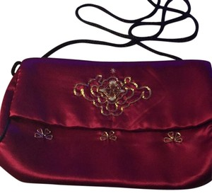 Other Maroon Clutch