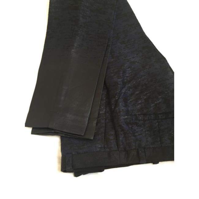 H&M Trouser Pants Black and Navy Image 1