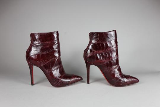 Christian Louboutin red Boots Image 3