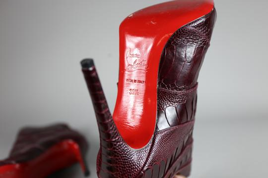 Christian Louboutin red Boots Image 6