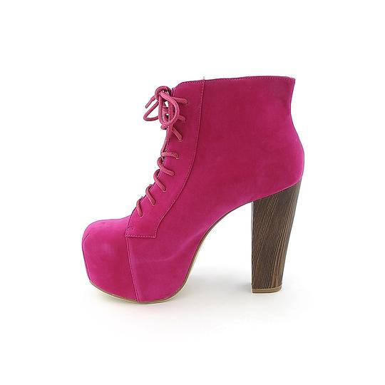Shoe Republic LA Fuchsia Platforms