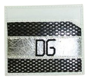 Dolce&Gabbana Dolce & Gabbana Black & White Leather Card Holder (Wallets) BP0450 - CLEARANCE