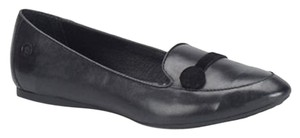 Brn Slipon Black Flats