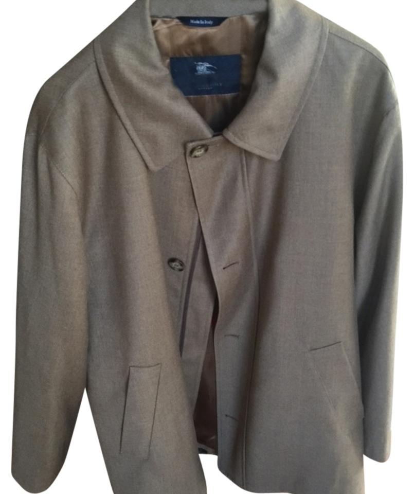 outlet sale cheapest sale fashion Burberry Tan Beige Model Fino Made In Italy Coat Size OS (one size)