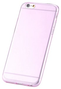 """Other Light Pink - IPhone 6 Plus / 6s Plus 5.5"""" TPU Rubber Gel Ultra Thin Case Cover Transparent Glossy 10 Colors Available"""