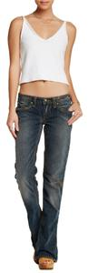 Stitch's Flare Leg Jeans-Medium Wash