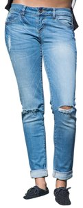 Private Collection Boyfriend Cut Jeans-Distressed
