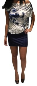 Roberto Cavalli short dress Dark Blue on Tradesy