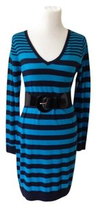Old Navy short dress Blue & Black on Tradesy