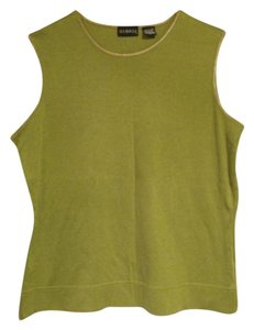 George Top light olive green