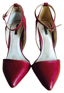 Forever 21 deep red Pumps