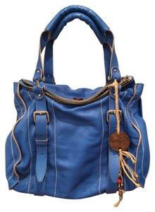 True Religion Satchel in Royal Blue