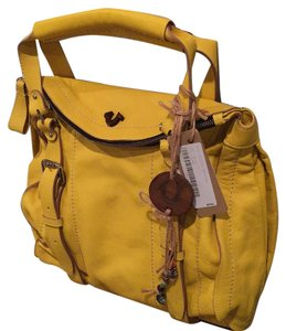 True Religion Satchel in Yellow