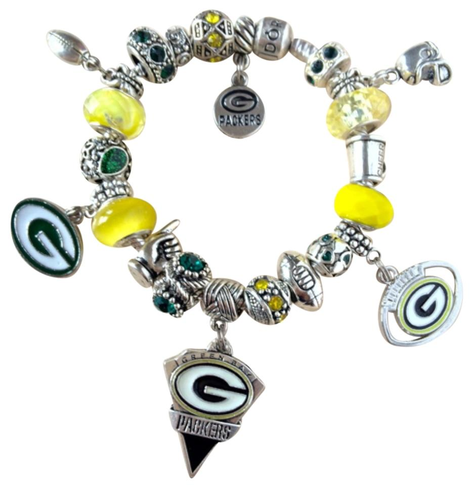 Pandora Authentic Bracelet Weuropean Charms Green Bay Packers Theme