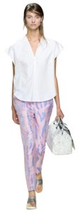 3.1 Phillip Lim Capri/Cropped Pants Blue and pink