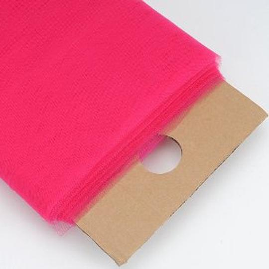 """Fuchsia 54""""X 120ft (40 Yards) Tulle Tutu Fabric Nylon By Bolt For Party Supplies - Wraping Pew Bow Other"""