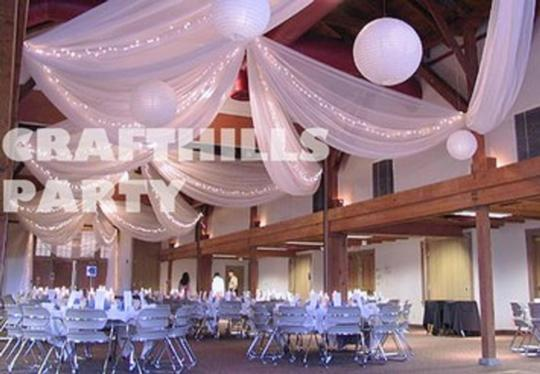 "Purple 54""X 120ft (40 Yards) Tulle Fabric By Bolt For Supplies - Pew Bow Bridal Favor Reception Decoration"