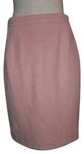 Chanel Brocade Wool Season Skirt Pink