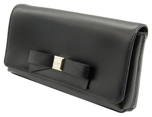 Kate Spade Montford Park Leather Black Clutch