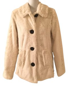 Me Jane Faux Faux Rabbit Soft Fuzzy Medium 6 8 10 Jacket Boutique Fur Coat