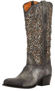 Frye Studded Tall Brand New Jewels Silver / Anthracite Boots