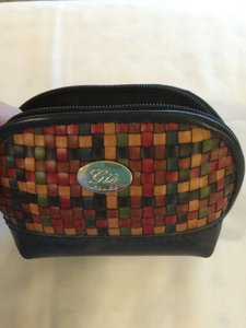 New Italian Soft Leather Zippered Pouch