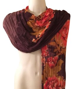 Collection Eighteen Floral Shawl Scarf Luxury