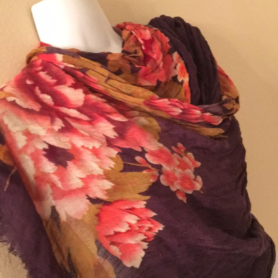 cabb6aa0228 Collection Eighteen Multicolor Floral Shawl Luxury Scarf/Wrap