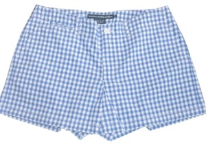 Ralph Lauren New Plaid Mini/Short Shorts Blue