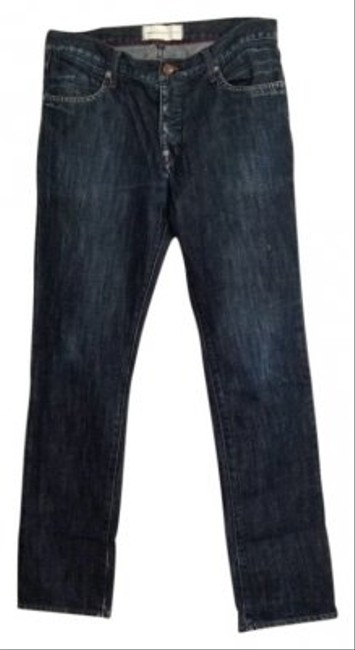 Paper Denim & Cloth Straight Leg Jeans-Dark Rinse