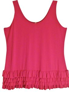 Xhilaration Sleeveless Top Fuschia