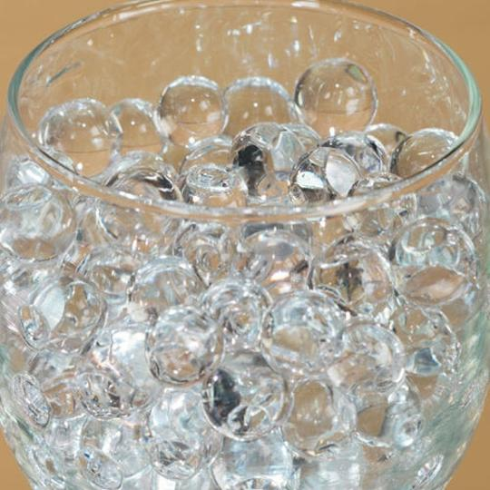 Black & White Lot Of 200g + Water Pearl Fill Out Vase Filler Plant Centerpiece