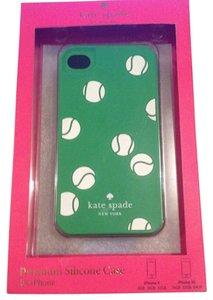 Kate Spade Kate Spade Tennis Balls on Green Premium silicone case iPhone 4/4S