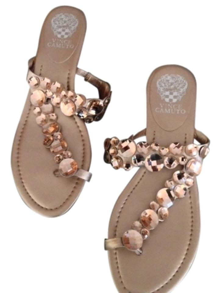 8b28cf0b710 Vince Camuto Rose Gold Ilicia Sandals Size US 8.5 - Tradesy
