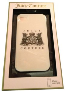 Juicy Couture Juicy Couture Pink Scottie Dogs Crest hardshell case cover for iPhone 4/4S