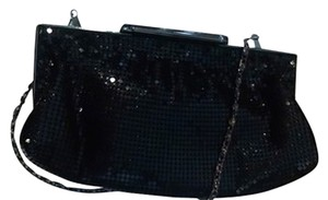 Other Closed Clasp Chain P1813 black Clutch