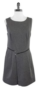 Shoshanna short dress Grey Sleeveless on Tradesy