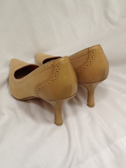 Lands' End Suede Leather Tan Pumps