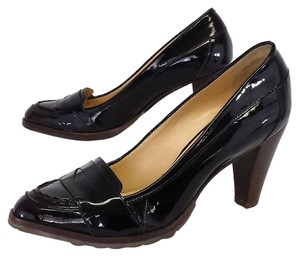 Cole Haan Deep Plum Patent Leather Loafer Loafer Pumps