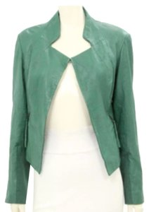 Improvd Green Leather Jacket
