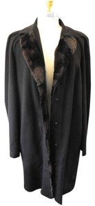 Fendi Fur Rabbit Fur Cashmere Fur Cashmere Coat