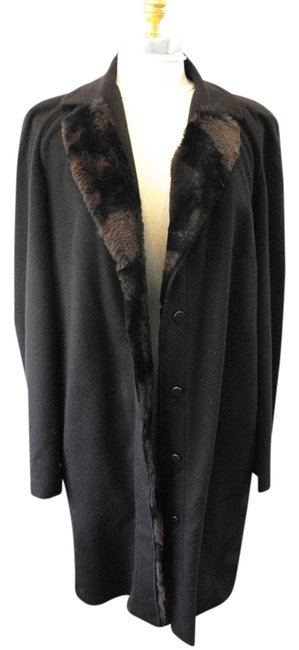 Fendi Rabbit Fur Cashmere Fur Cashmere Coat